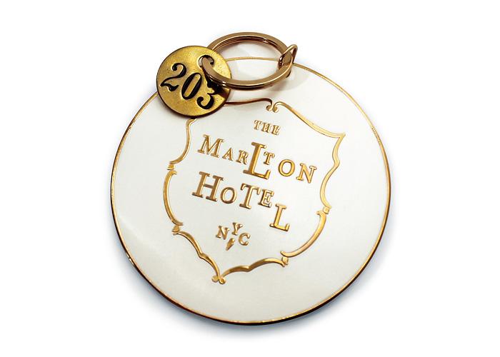 The Marlton Hotel Key Fob
