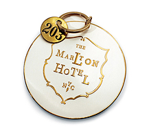 The Marlton Hotel Key Fob