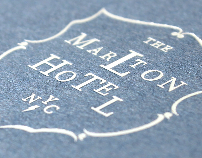 The Martlon Hotel Stationery