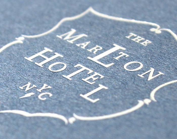 The Martlon Hotel Stationery