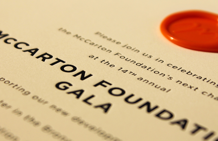 McCarton Foundation Gala