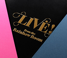 Rainbow Room Menu Covers